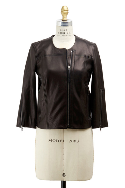 Helmut Lang - Black Leather Jacket