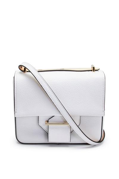 Reed Krakoff - White Pebbled Leather Shoulder Standard Handbag