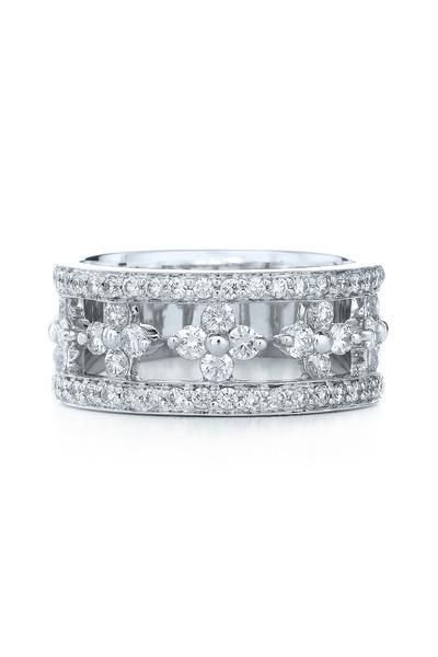 Kwiat - Jasmine White Gold White Diamond Ring