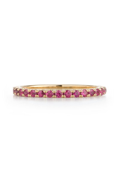 Kwiat - 18K Yellow Gold Ruby Stackable Band