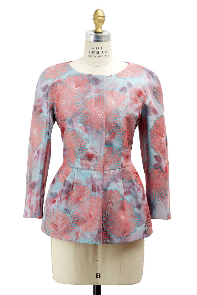 Pink Silk Jacket