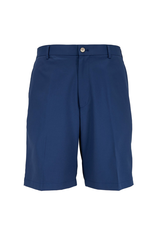 Solid Midnight Blue Performance Shorts