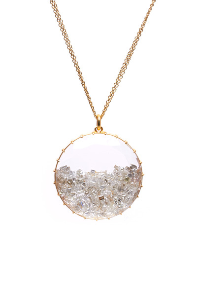Renee Lewis - Yellow Gold Diamond Shake Necklace