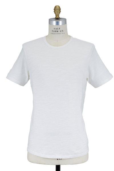 Rag & Bone - Standard Issue White Short Sleeve T-Shirt