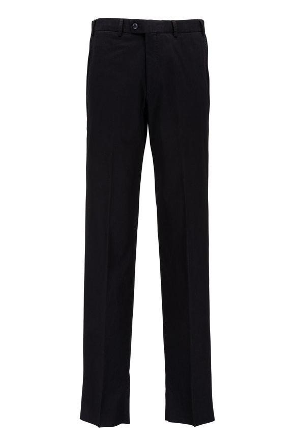 Hiltl Dayne Black Stretch Cotton Pant