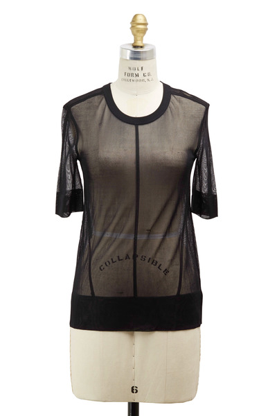 J Brand - Elsa Black Viscose Sweater