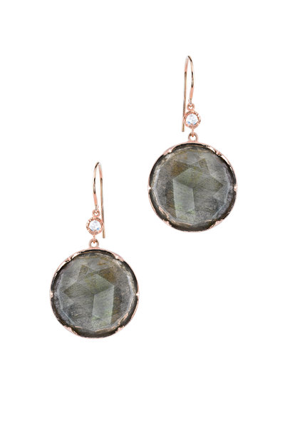 Irene Neuwirth - Grey Dangle Earring