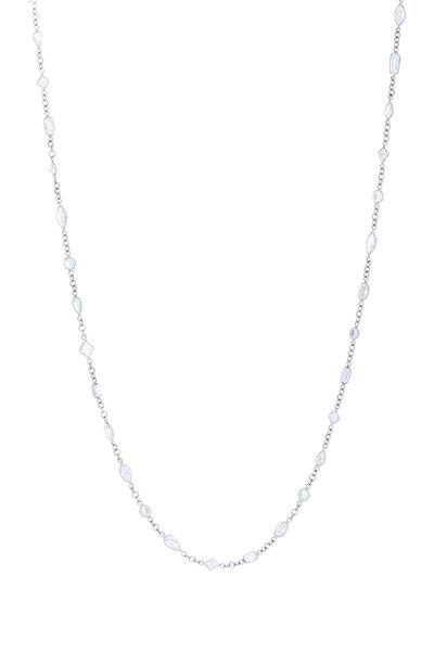 Kwiat - Platinum Diamond String Necklace