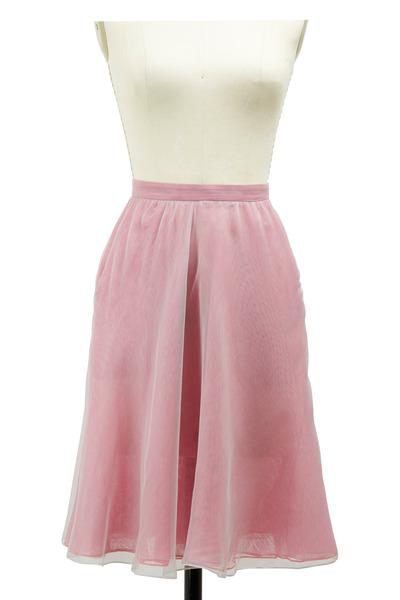 Giorgio Armani - Pink Silk Skirt