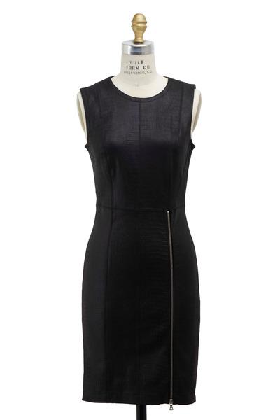 Yigal Azrouël - Black Leather Dress