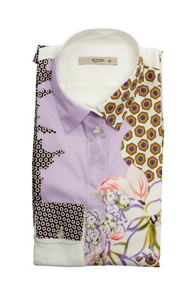Etro - Multicolor Cotton Blouse
