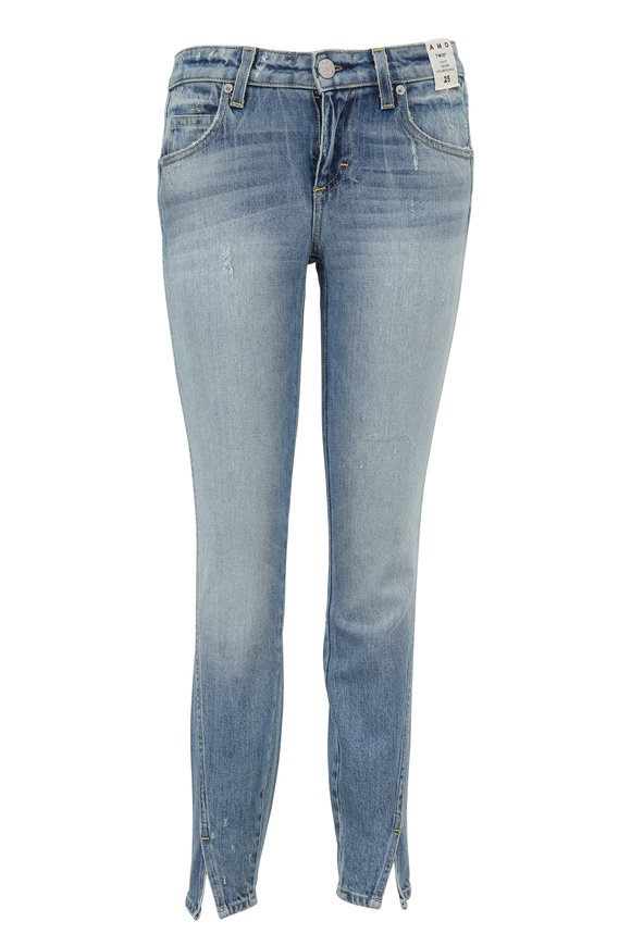 Amo Twist Mid-Rise Skinny Crop Jean