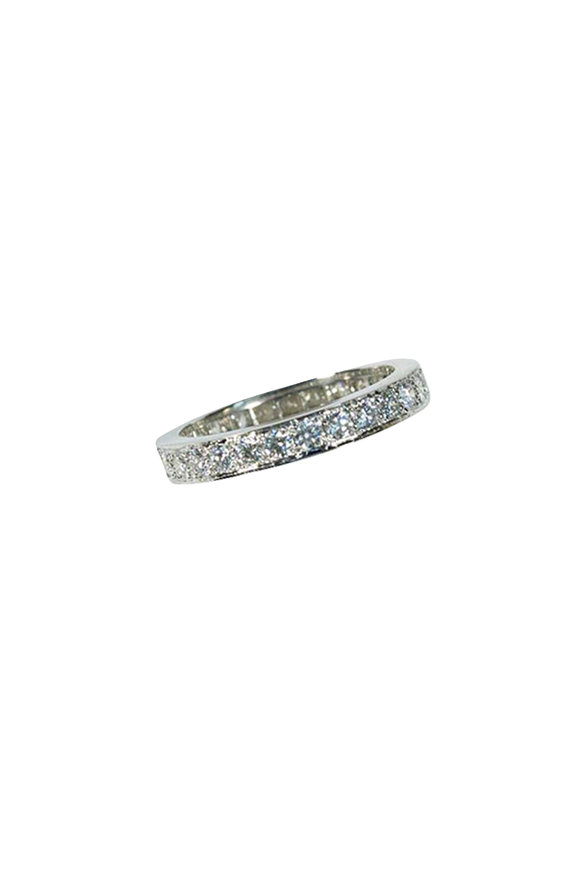 Oscar Heyman Platinum Diamond Guard Ring