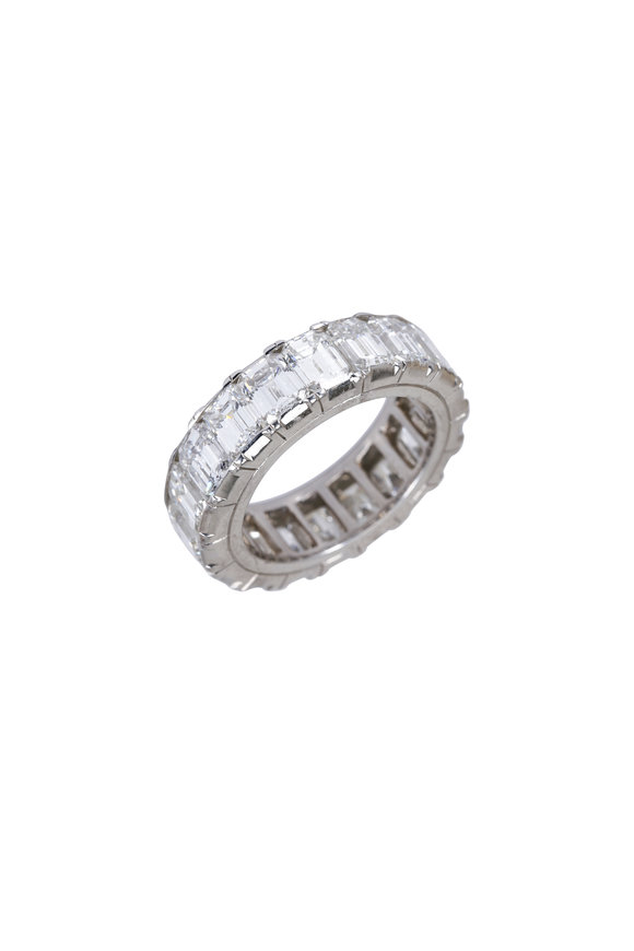 Oscar Heyman Platinum Diamond Guard Ring
