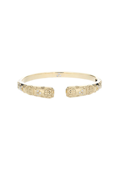 Temple St. Clair - 18K Yellow Gold Nomad Bella Bangle