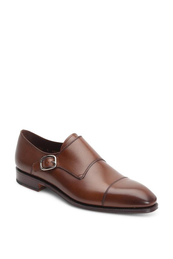 Carmina Simpson Dark Brown Single Monk Shoe