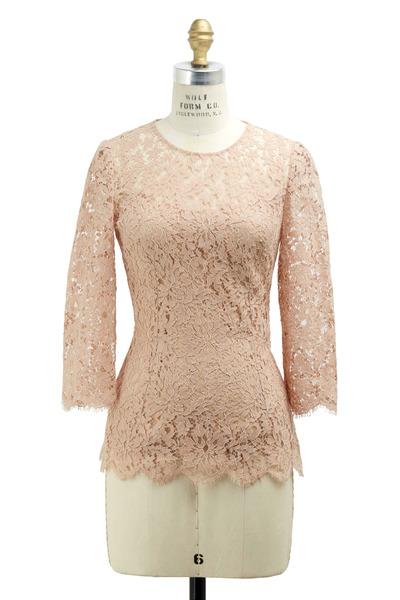 Dolce & Gabbana - Rose Lace Blouse