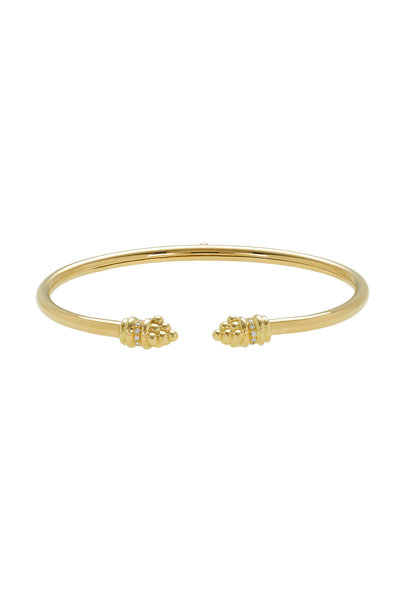 Temple St. Clair - 18K Yellow Gold Bellina Bangle