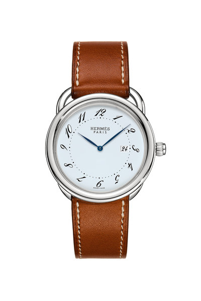 Hermès - Arceau GM Steel Watch, Large Model