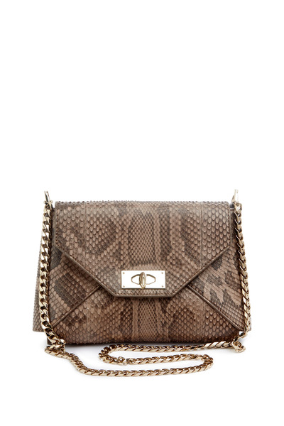 Givenchy - Shark Python Leather Chain Shoulder Bag