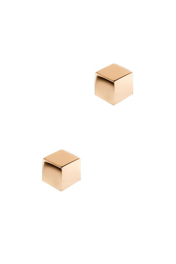 Paolo Costagli 18K Rose Gold Studs