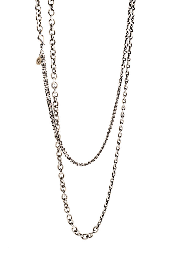 Kary Kjesbo Sterling Silver Essential Chain 54