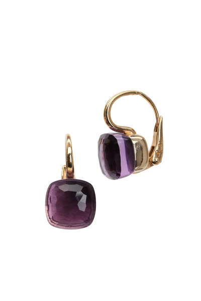 Pomellato - Nudo 18K Rose Gold Amethyst Earrings