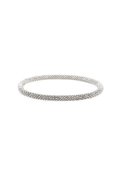 Kathleen Dughi - 18K White Gold Thin Casini Bracelet