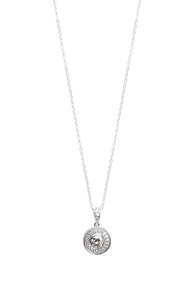 Louis Newman - Platinum Diamond Pendant