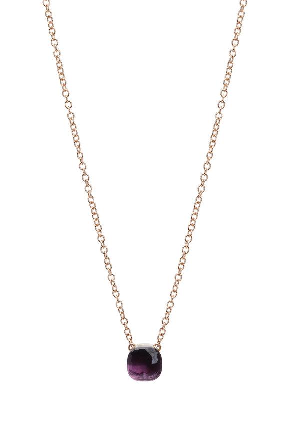 Pomellato 18K Rose Gold Amethyst Necklace
