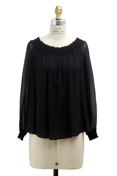 Michael Kors Collection - Black Designer Blouse