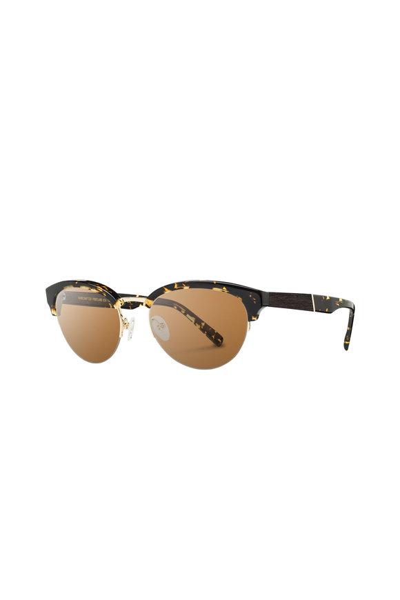 Shwood Hayden Dark Speckle Cat-Eye Sunglasses