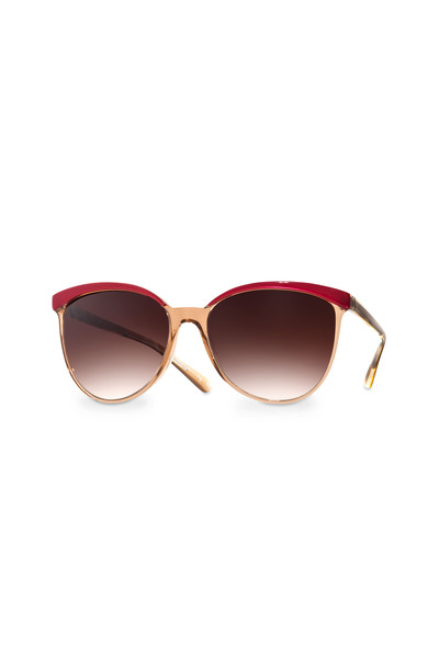 Oliver Peoples - Ria Spice Brown Sunglasses