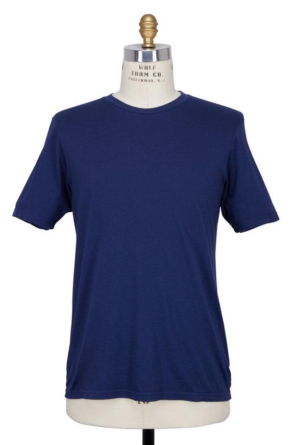 Good Life Navy Blue Crewneck T-shirt