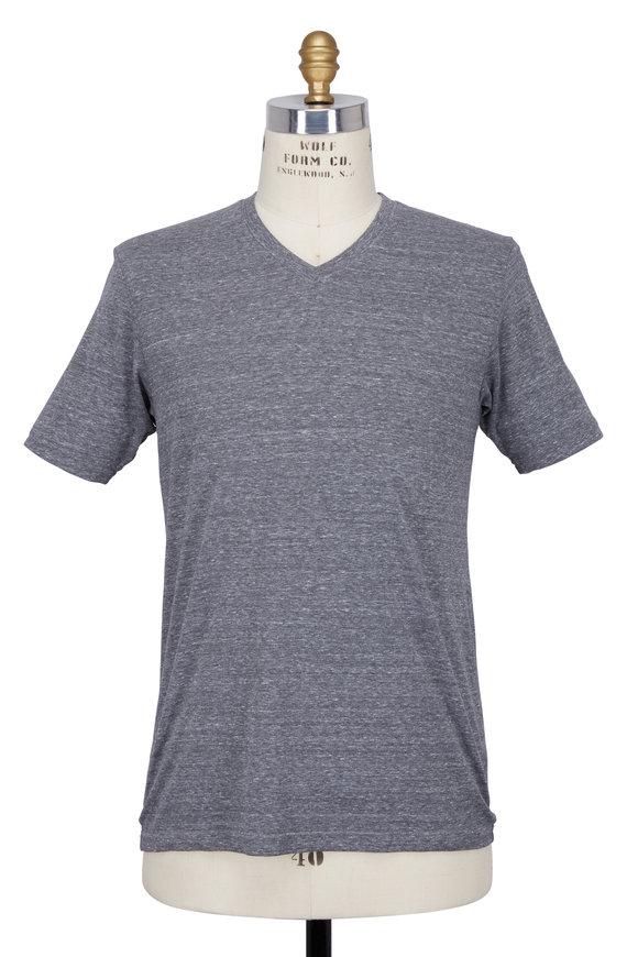 Good Life Gray V-neck T-shirt