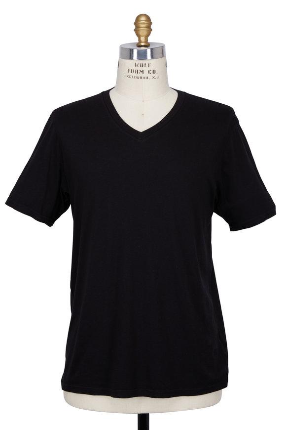 Good Life Black V-Neck T-Shirt