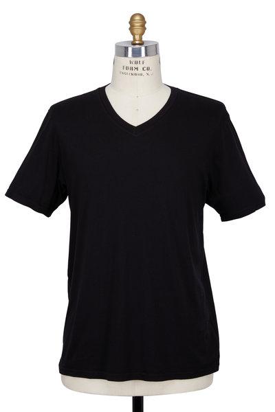 Good Life - Black V-Neck T-Shirt