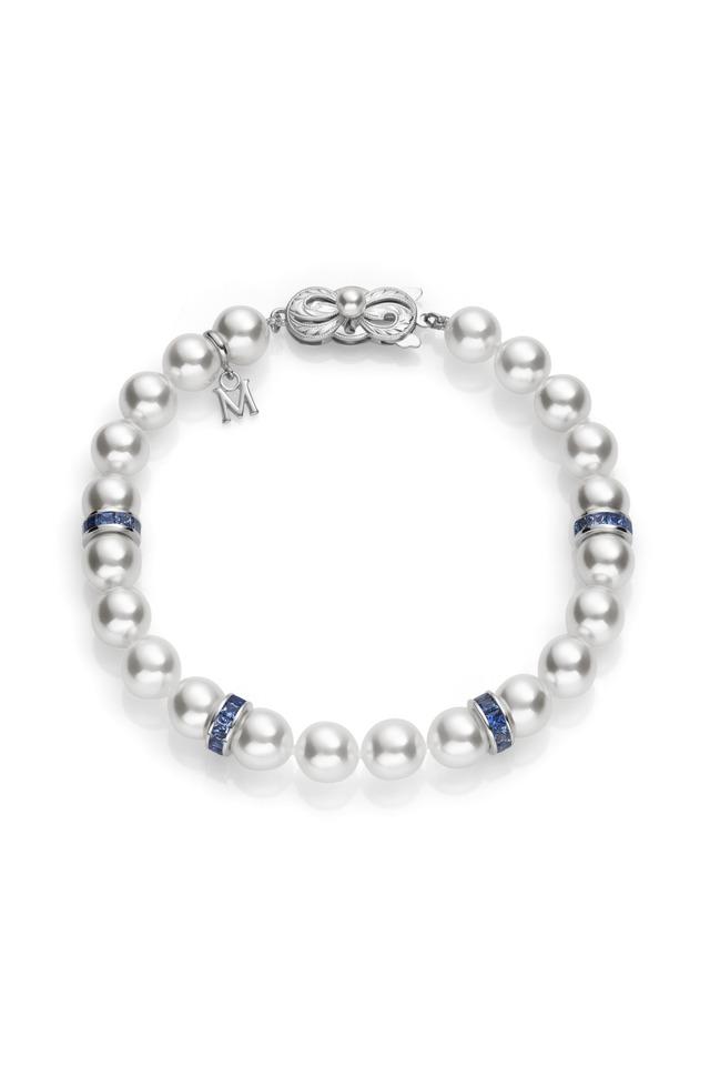 White Gold A1 Akoya Pearl Bracelet