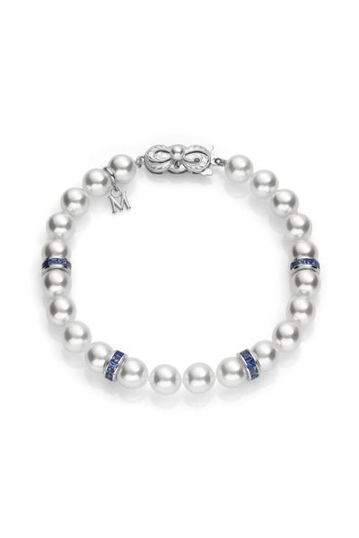 Mikimoto - White Gold A1 Akoya Pearl Bracelet