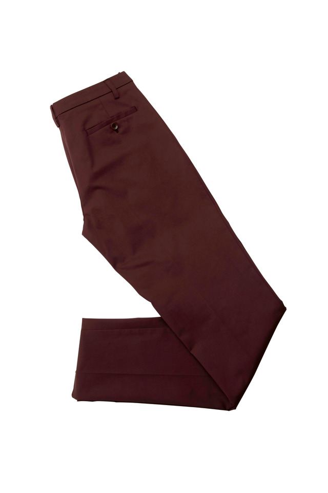 Plum Slim Pants