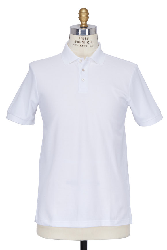 Handvaerk White Classic Polo