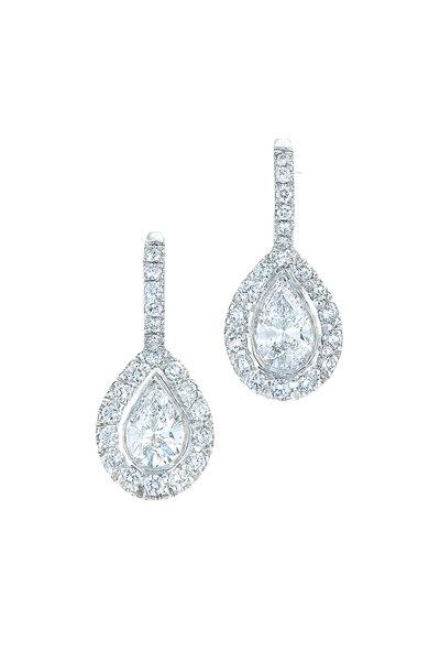 Kwiat - 18K White Gold & Platinum Diamond Earrings