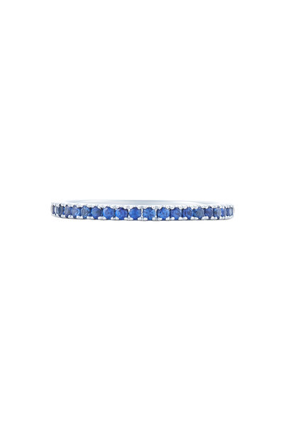 Kwiat - 18K White Gold Sapphire Stackable Band