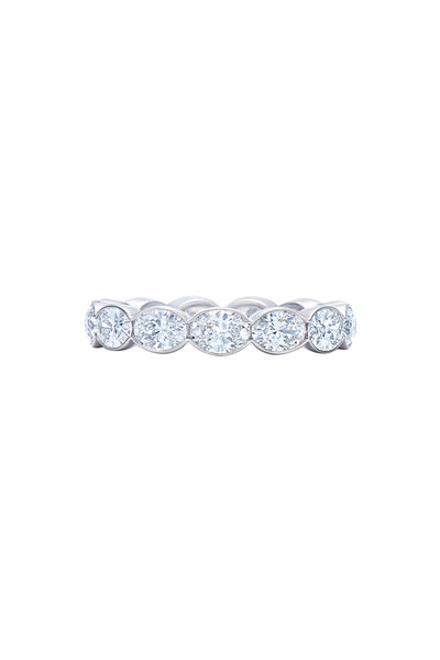 Kwiat - Platinum Diamond Wedding Ring