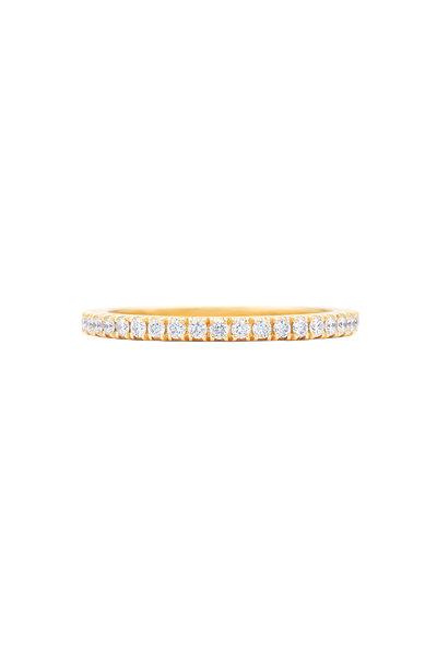 Kwiat - 18K Yellow Gold Diamond Stackable Band