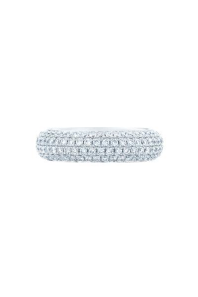 Kwiat - 18K White Gold Diamond Moonlight Ring