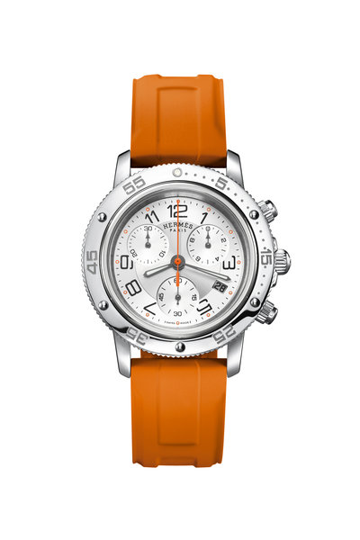 Hermès - Clipper Chronograph Watch, 36 mm