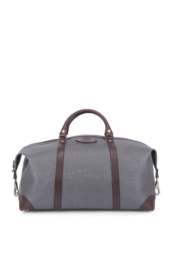 Ghurka Cavalier II Slate Gray Tech Fabric Duffel Bag