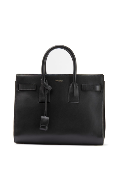 Saint Laurent - Sac De Jour Black Leather Mini Tote