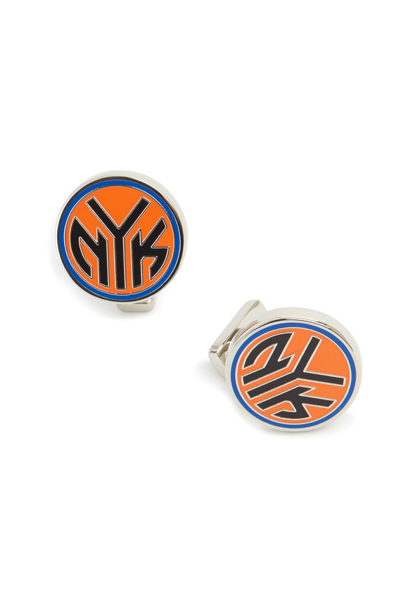 Cufflinks Inc Sterling Silver New York Knicks Cuff Links